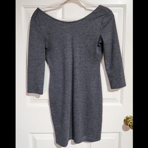 Forever 21 Charcoal Grey Dress
